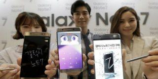 Samsung ordena dejar de vender y cambiar los Galaxy Note 7 para no quemarse