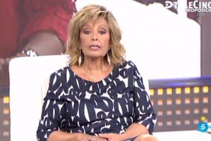 ¡Susto en Telecinco! El amago de desmayo de María Teresa Campos en directo del que nadie ha querido hablar