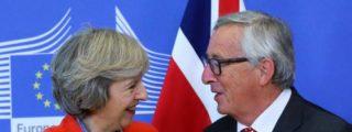 La expresiva respuesta de Juncker sobre su encuentro con Theresa May