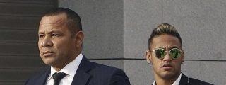 """El padre de Neymar no ve """"nada malo"""" en la actitud de su hijo"""