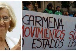 """Los 'okupas' se le rebelan a Carmena: """"Madrid no es tu cortijo"""""""