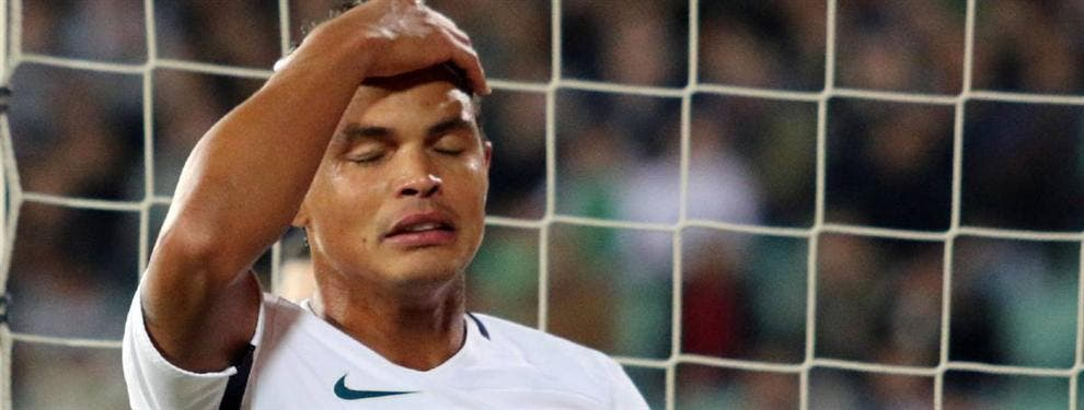 Otro crack del PSG prepara las maletas tras el aviso de Thiago Silva