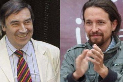 """Pedrojota Ramírez y Pablo Iglesias son muy colegas: guiños y baboseo a cuenta de la """"incipiente tripa"""" del podemita"""