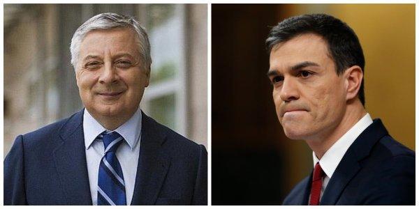 """Durísimo mensaje de 'Pepiño' Blanco a Sánchez: """"No puede sentirse humillado después de nueve meses diciendo 'no'"""""""
