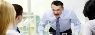 Las 6 señales para detectar si tu jefe es un psicópata de mucho cuidado