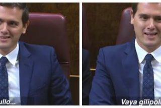 """La reacción de Albert Rivera tras la patochada del presumido Pablo Iglesias: """"¡vaya gilipollas!"""""""