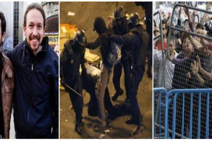 ¿Volverán a emocionarse hasta las lágrimas los diputados podemitas cuando le abran la cabeza a un antidisturbios?