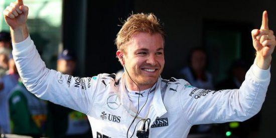 Rosberg se lleva la pole; Sainz saldrá 14º y Alonso, 15º