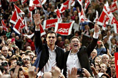 La crisis del PSOE impulsa el trasvase de votantes socialistas a Podemos y Ciudadanos