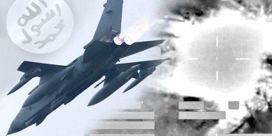 [VÍDEO] El mortífero ataque de la RAF a ISIS en Mosul con drones 'Typhoon'