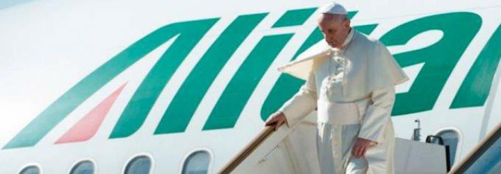"""Francisco ya está en Suecia: """"Éste es un viaje importante para el ecumenismo"""""""
