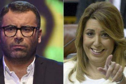 """Jorge Javier Vázquez machaca a Susana Díaz: """"Me enerva su sonrisa bonachona"""""""