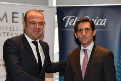 Meliá Hotels Internacional elige a Telefónica como socio tecnológico para sus hoteles en todo el mundo