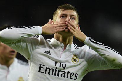 Toni Kroos amplía su contrato con el Real Madrid hasta 2022