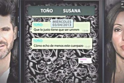 Los whatsapps que ponen a Toño Sanchís contra las cuerdas
