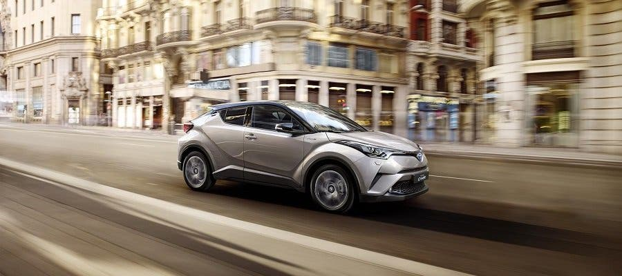 El C-HR lidera el proyecto de Toyota en el Salón de París