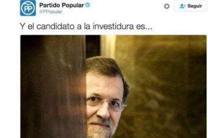 El Community Manager del PP es podemita: Génova elimina un tuit que le hacía un flaco favor a Rajoy