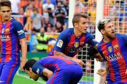 (VÍDEO) La brutal trifulca del Valencia - Barça: Enzo se fue a por Neymar...