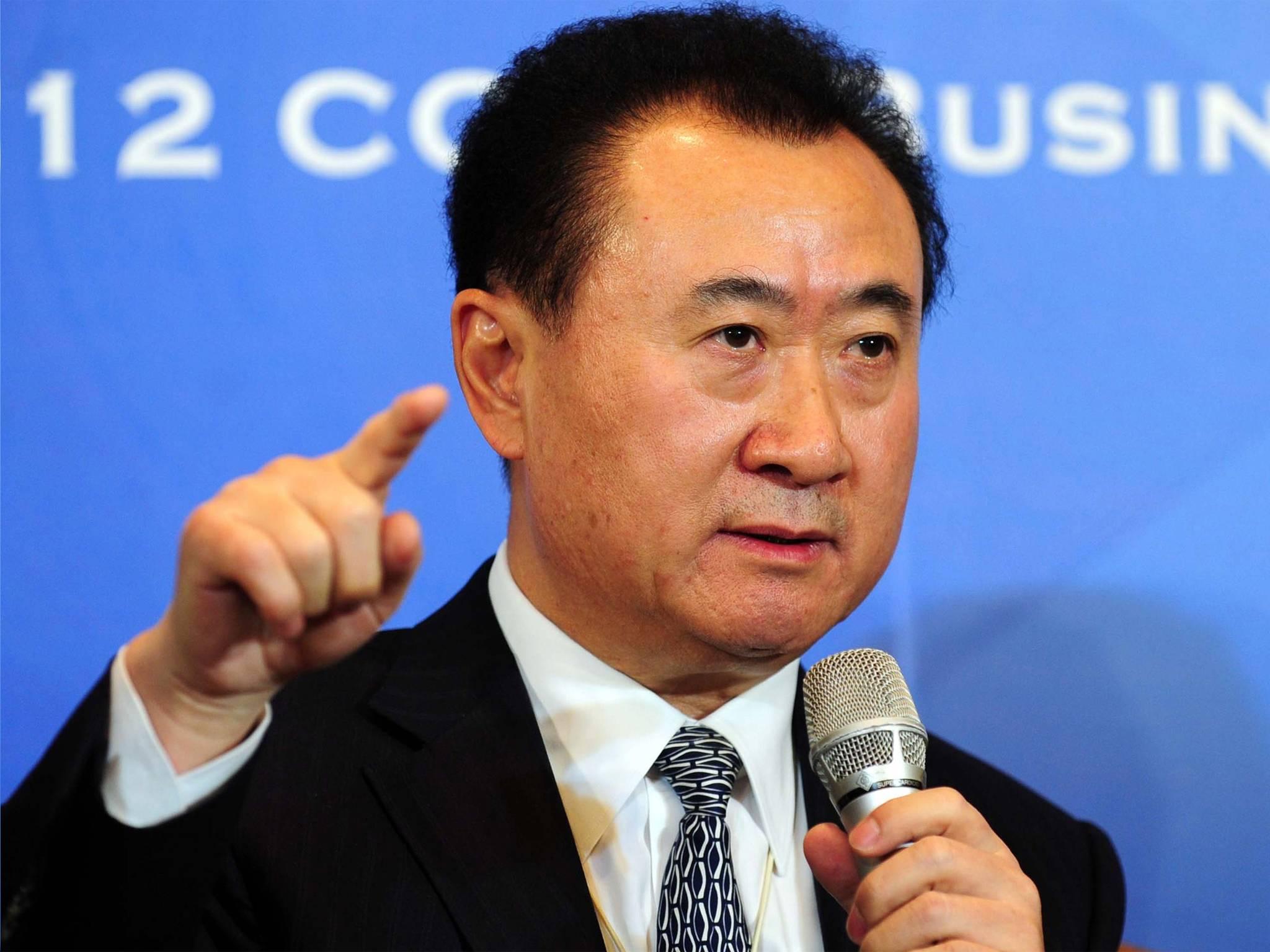Wang Jianlin, fundador de Wanda y accionista del Atlético de Madrid, el más rico de China