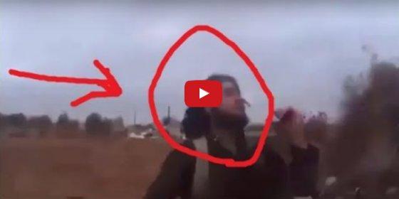El chulito gritón del ISIS que graba su muerte a manos de un francotirador