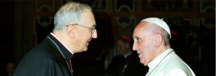 """Zenari: """"Siria no es una periferia para el Papa. ¡Cuando habla de Siria, el Papa lo hace con el corazón!"""""""