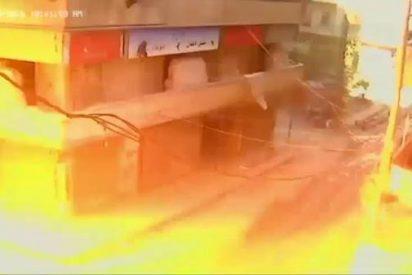 Así se vivió el bombardeo en un hospital de niños de Alepo.