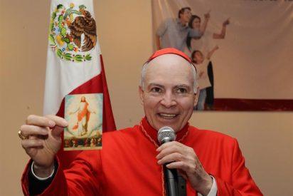 Cardenal Aguiar insta a la Iglesia a salir a la calle
