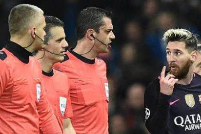 """Messi se enzarza tras el partido con un jugador del Manchester City: """"Bobo, bobo, ven aquí"""""""