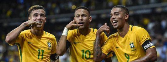Mucho Neymar para poco Messi: Brasil 3 - Argentina 0