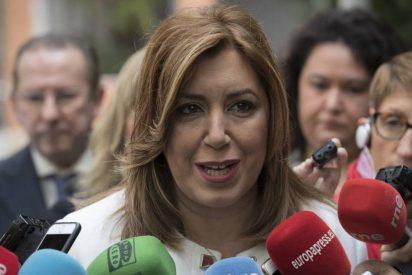"Susana Díaz advierte del ""grave choque de legitimidades"" entre PSOE y PSC"