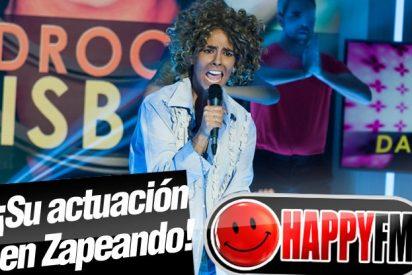 Cristina Pedroche se desmelena imitando a David Bisbal