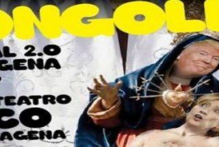 """El obispo de Cartagena presidirá una misa de desagravio por el """"cartel irreverente"""""""