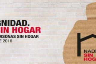 """""""Por Dignidad. Nadie Sin Hogar"""": Cáritas exige derechos para los sin techo"""