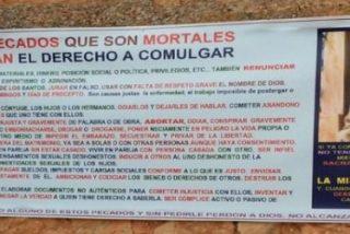 Un cura de Albacete prohíbe comulgar a los cotillas o a los que vean porno