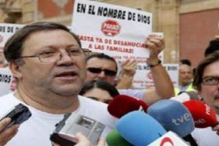 """El cura Joaquín Sánchez """"no es un delincuente"""""""