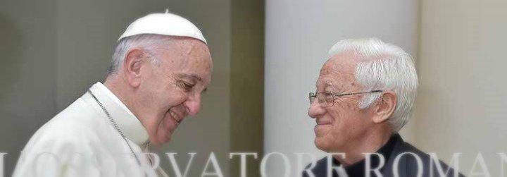 """El Papa Francisco al Padre Ángel en Roma: """"Seguí, Ángel. Ellos sí que son la carne de Cristo"""""""