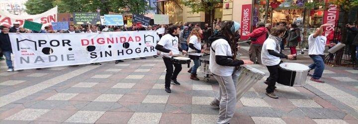 Cuarenta mil personas viven en la calle en España