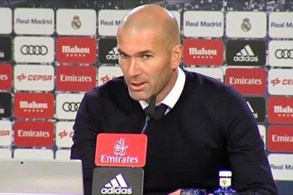 """Zinedine Zidane: """"Solo podemos estar contentos de los tres puntos"""""""