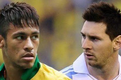 El Brasil de Neymar, a defender el liderato sudamericano ante la Argentina de Messi