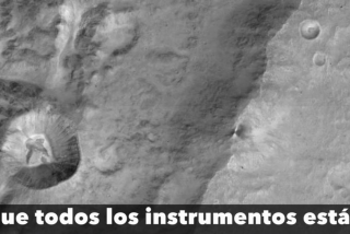 El orbitador de la Agencia Espacial Europea obtiene sus primeras fotografías de Marte