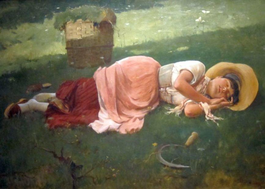 "Manuel del Rosal: ""La siesta"""