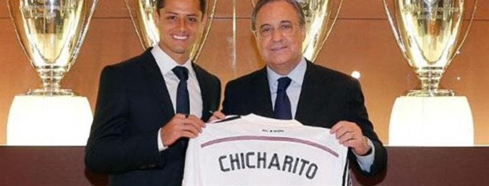 A toda Costa Florentino quiere que Chicharito regrese al Real Madrid