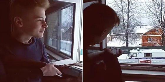 Los adolescentes que se suicidan en directo por Internet tras tirotear a la Policía