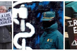 La Guardia Civil detiene a ocho facinerosos bilduetarras por participar en la paliza de Alsasua