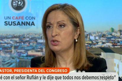 Ana Pastor pone en jaque a Pablo Iglesias revelando una confidencia demoledora