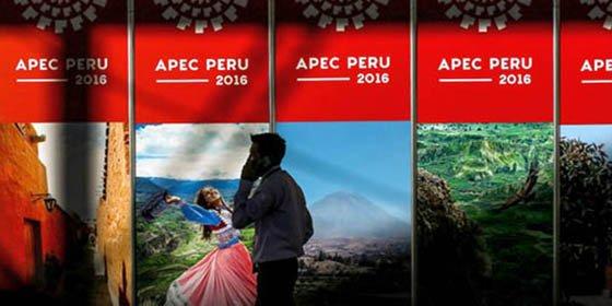 Cumbre APEC 2016 pondrá nuevamente al Perú ante los ojos del mundo
