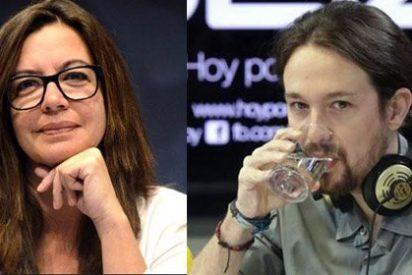 """Angels Barceló desnuda a Pablo Iglesias: """"Si usted cree que hemos sacado lo de Espinar para influir en las primarias...¿entonces es Rita Maestre la candidata de Prisa?"""