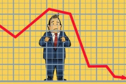 El Ibex cae por debajo de los 8.800 puntos con lo que se desploma un 4,45% en la semana