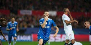 La Juve deja Mudo Nervión; el Sevilla se la juega en Lyon: Sevilla 1- Juventus 3