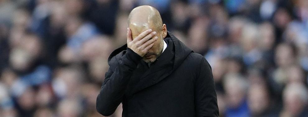 Bronca del City a Guardiola con Messi como motivo